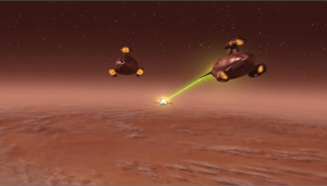 The Vulcan high command gets impatient and starts to attack Enterprise, and the shuttle going to get Archer back