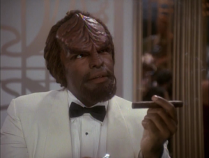 Bashir has to gamble with Worf