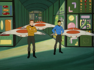 Spock gets taken underground and Kirk manages to follow. They confront the master computer