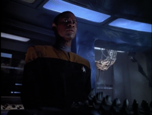 But he still makes himself useful. Tuvok is cool!