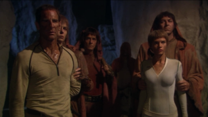 Archer and T'Pol are captured by the Syrrannites
