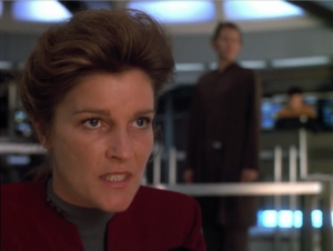 Janeways says screw this, Ima drive the ship into some pulsars