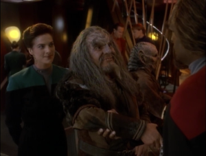 My favorite Klingon and my 3rd favorite Klingon meet, and want to go on a quest!