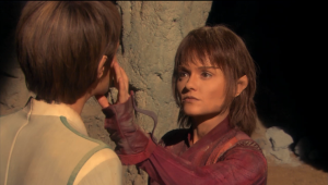 T'Pau tells T'Pol that there's a way to fix her disease she got from melding with that guy a long time ago