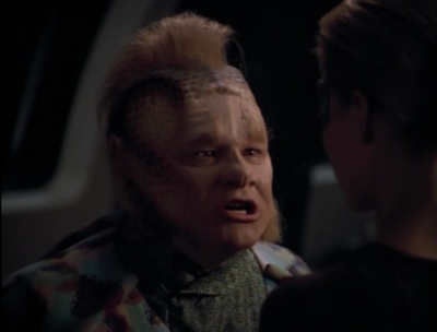 Neelix wishes that Seven never saved him
