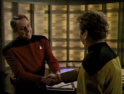 Enterprise finally catches up with Maxwell. He seems like a nice guy. Let's trust him