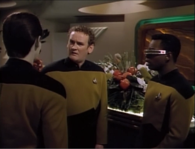 Data doesn't understand things. He tells O'Brien that Keiko wants to cancel the wedding and he expects O'Brien to be happy