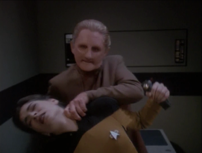 Odo rescues him.