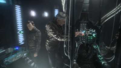 We see that the romulans are operating it