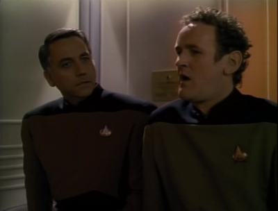 So O'brien beams over and sings to him