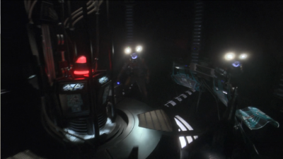 Trip and Reed make it to the bridge and discover the ship is being controlled remotely