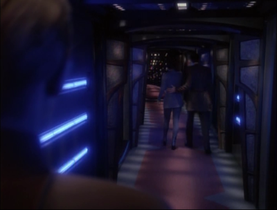 Shakaar is getting real friendly with Kira. Odo has to watch because he needs to make sure no one assassinates Shakaar