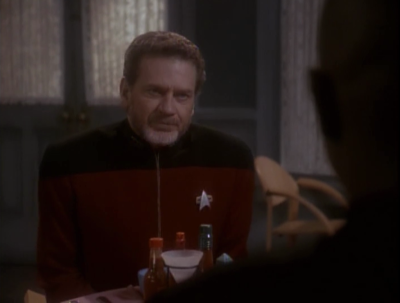 The admiral says Sisko is fired from his position on earth