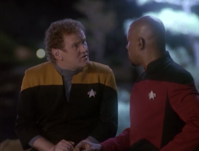 A changeling visits Sisko and says all this chaos was just from 4 changelings on earth