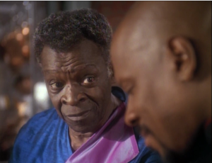 Sisko's dad has health issues