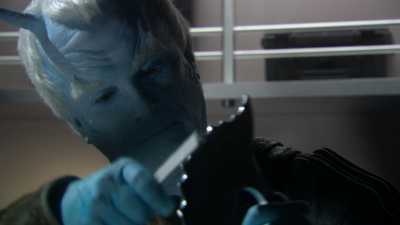 Shran demands to have a showdown with the tellarite, and if Archer doesn't allow it then the andorians are backing out of the alliance