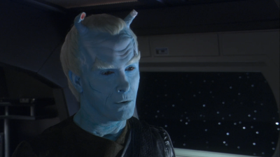 They somehow found out that an Aenar was controlling the Romulan ship