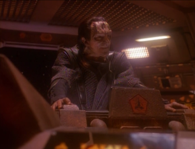 Kira discovers all kinds of intel that can be used against the klingons. Dukat is eager to tell the cardassian leadership and regain his former position