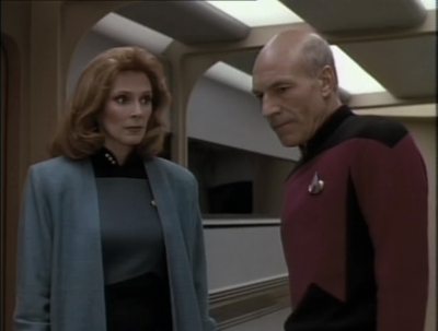 Crusher looks at transporter data and discovers that they were out for more like a day