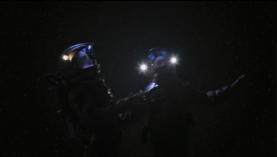 Reed and Trip are tired of that ship so they just jump out into space