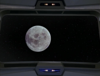 But then Chakotay sees the moon again