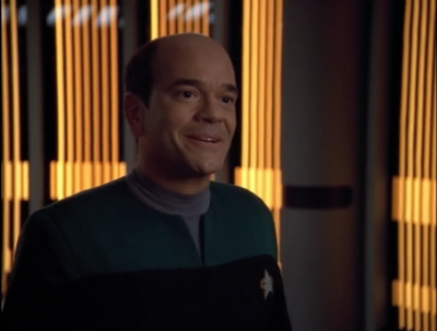 The EMH makes it back to Voyager and he relayed the message that Voyager is still out in the Delta Quadrant