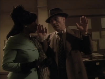 Picard and Guinan mess around in the holodeck