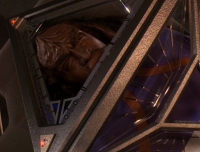 Dax figures out what Worf was up to and saves Kurn. He's not too happy