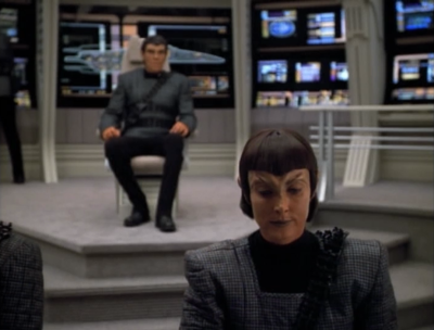 The Romulans are taking the ship back to their space