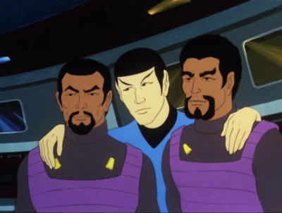 Spock is starting to feel pretty close to the Klingons