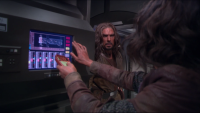 Enterprise gets boarded by Klingons, but they look human-ish