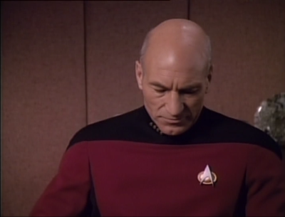 So he tells Picard to get lost