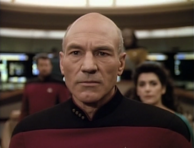 At least Picard is in this episode