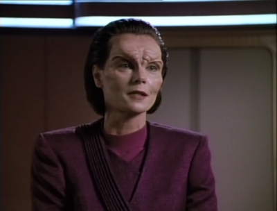 But this lady wants to stay on Enterprise and they let her