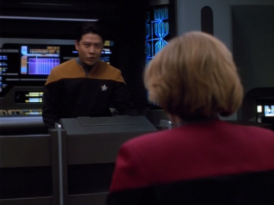 Starfleet is trying to send a message through the Hirogen relay stations
