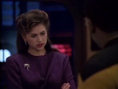There's a problem that needs to be solved and Brahms and Geordi work really well together to sort it out