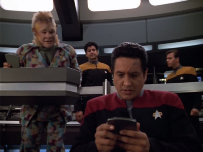 Chakotay discovers that the Maquis have been wiped out, and that he could've been watching DS9 this whole time