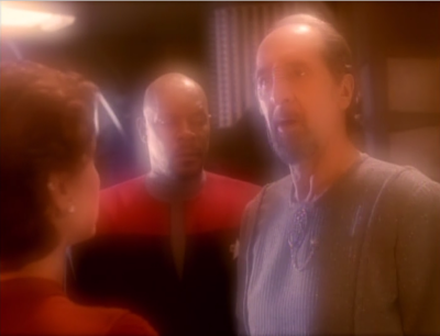 And the say it's the Sisko, duh