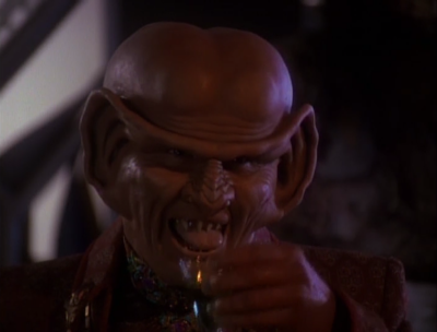 But then Brunt shows up. He can't have Ferengi forming unions