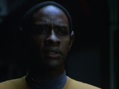 The species 8472 man telepathically tells Tuvok that he just wants to go home