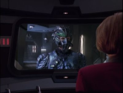 Janeway says she's not turning over species prey 8000
