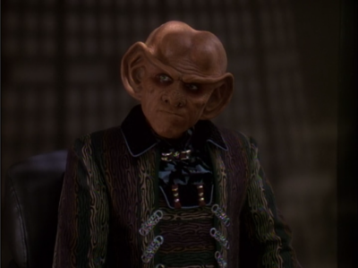 Quark says Worf wanted to fight