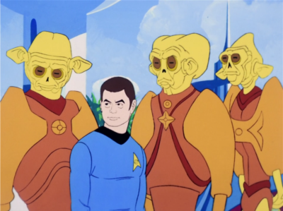 """But as they were leaving, the aliens say """"Hey, btw, we're arresting Bones for mass murder"""" claiming that he caused a plague"""