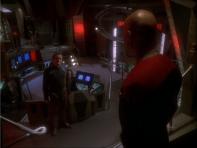 But it was a scheme to get Sisko to help build them a version of the Defiant