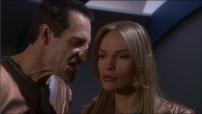 Archer isn't that happy about T'Pol betraying him but he still wants her around to help out