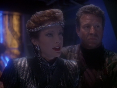 Mirror-Kira was captured, and the terrains now control DS9