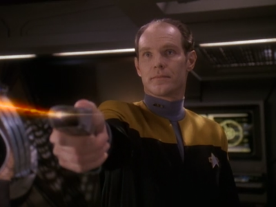 It was all a ploy to get the Defiant away from DS9 so Eddington can steal stuff for the Maquis!