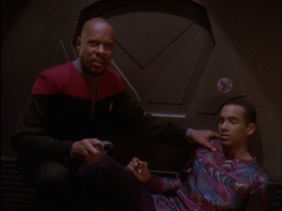 Until Sisko puts an end to it