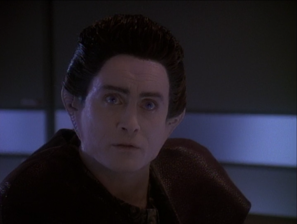 Weyoun says a group of Jem'Hadar found an Iconian portal!