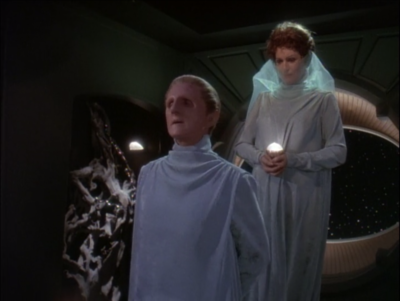 But in order for it to be legit, Odo has to convince everyone, including the husband, that it's the real deal